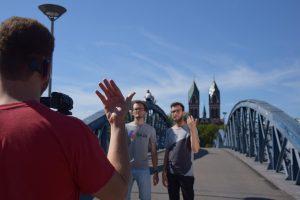 Gebärden-Musikvideo-Workshop @ online (Videokonferenz)